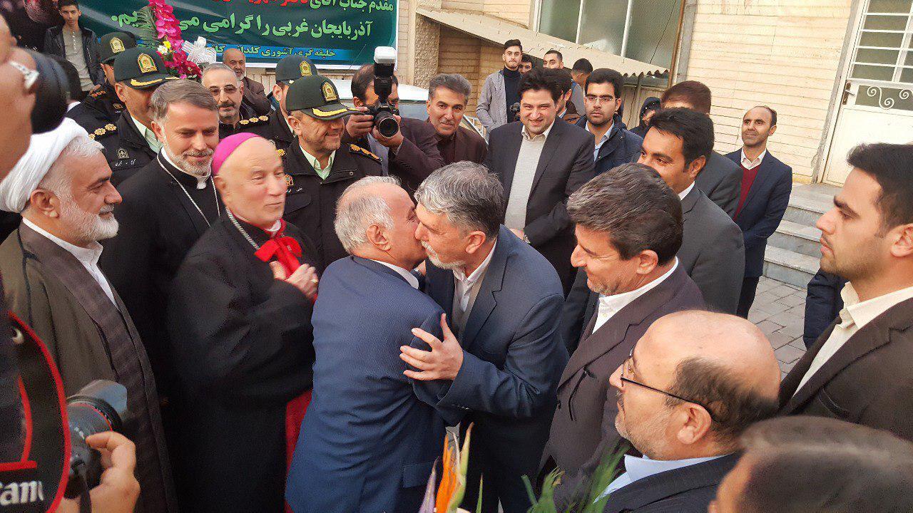 وزیر فرهنگ و ارشاد اسلامی در مراسم دید و بازدید عید میلاد